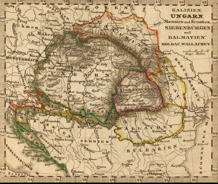 Siebenburgen la 1852