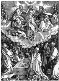 Dürer - Încoronarea Mariei - 1510