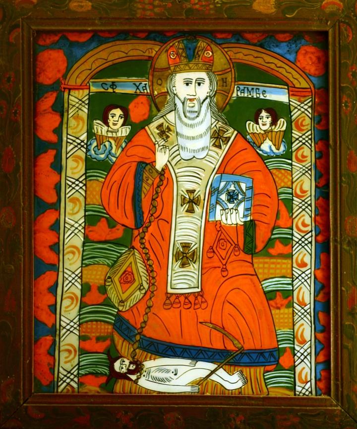 """Sfântul haralambie (""""HARAMBE"""") - Schei - gospodărie din Retiş"""