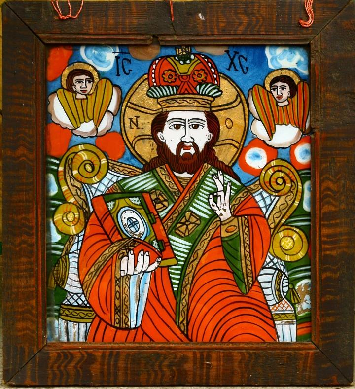 Iisus Pantocrator - Schei - gospodărie din Retiş