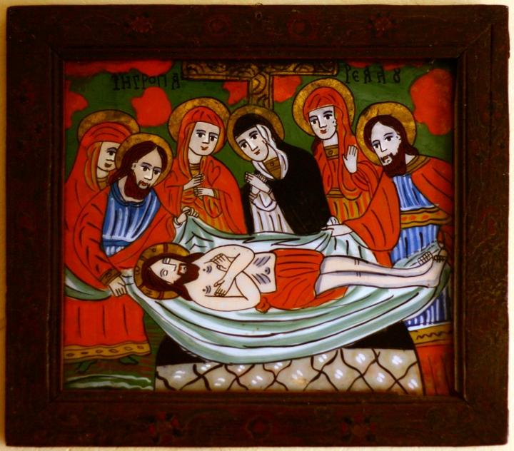 Îngroparea Domnului - Schei - gospodărie din Retiş