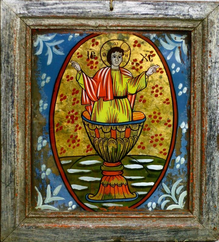 Iisus din Potir - Mărginimea Sibiului - gospodărie din Retiş